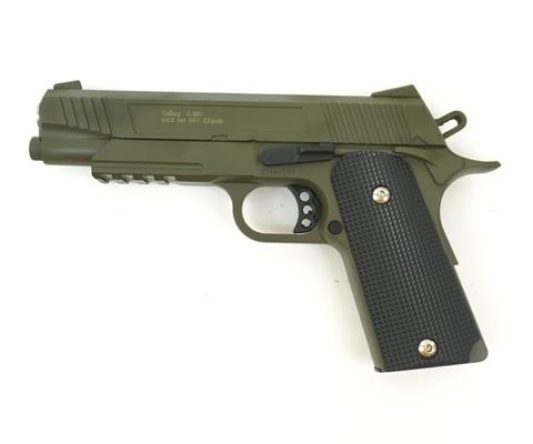 Страйкбольный пистолет Galaxy G.38G Colt, металлический, пружинный