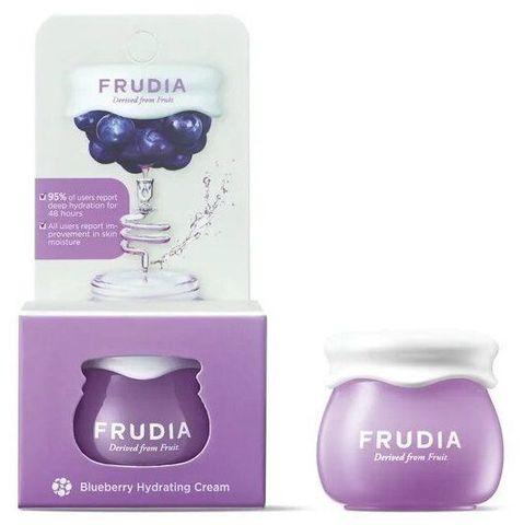 Frudia Миниатюра  Blueberry Hydrating Intensive Cream/Фрудиа Интенсивно Увлажняющий крем с черникой, 10гр
