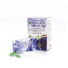 Натуральный гель для лечения стоматита и ран в полости рта Khaolar mouth gel
