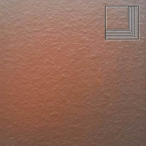 Ceramika Paradyz - Cloud Brown Duro, 300x300x11, артикул 15 - Ступень угловая структурная