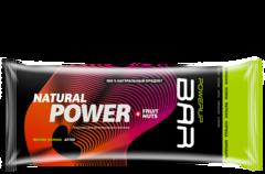 Батончик PowerUp Natural Power Bar Fruit & Nuts - финики, изюм, яблоко, корица, миндаль