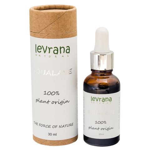 Levrana, 100% натуральный растительный Сквалан, 30мл
