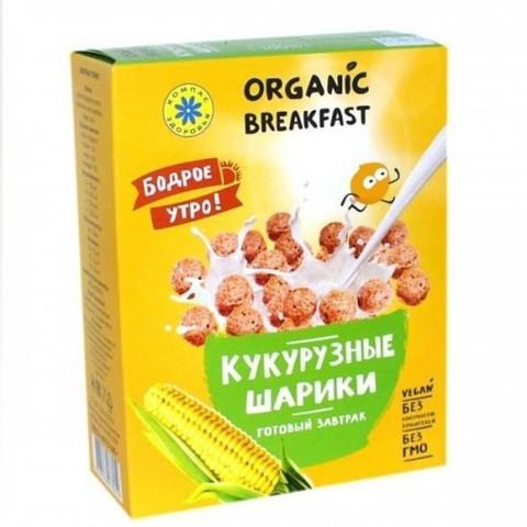 Шарики кукурузные, 100 гр. (Компас Здоровья)