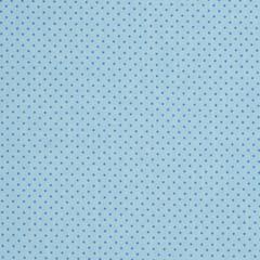 Ткань хлопковая синие точки на голубом