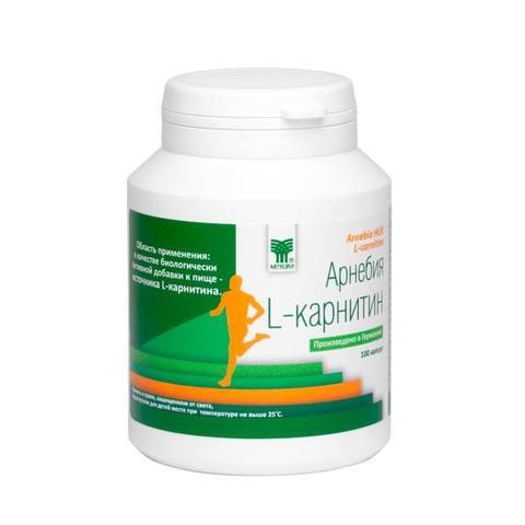 Арнебия L-карнитин (100 капсул)