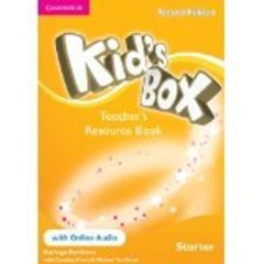 Kid's Box Second Edition Starter Teacher's Resource Book with Online Audio
