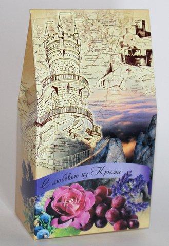 Набор мыло и мочалка «С любовью из Крыма»™Крымская Коллекция