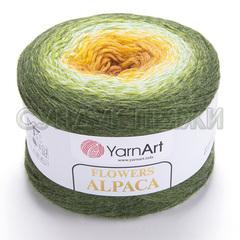 Flowers Alpaca Yarnart 438