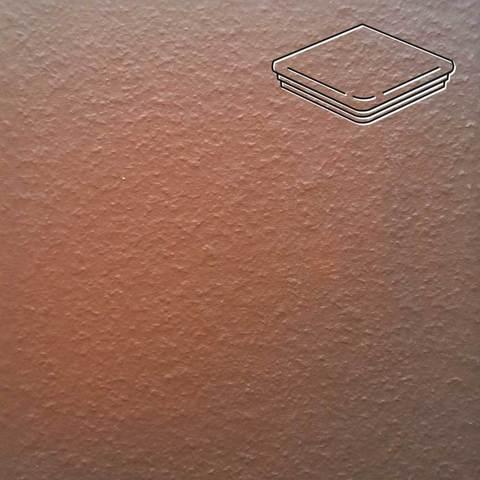 Ceramika Paradyz - Cloud Brown Duro, 330x330x11, артикул 16 - Ступень угловая с капиносом структурная
