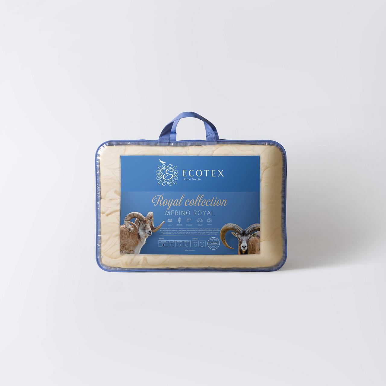 Одеяло Ecotex Меринос 2сп