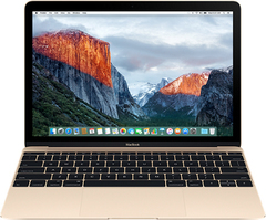 Apple Macbook 12 Retina Mid 2017, Intel Core M3 1.2GHz, 8Gb, 256Gb SSD MNYK2 (Gold, Золотой)