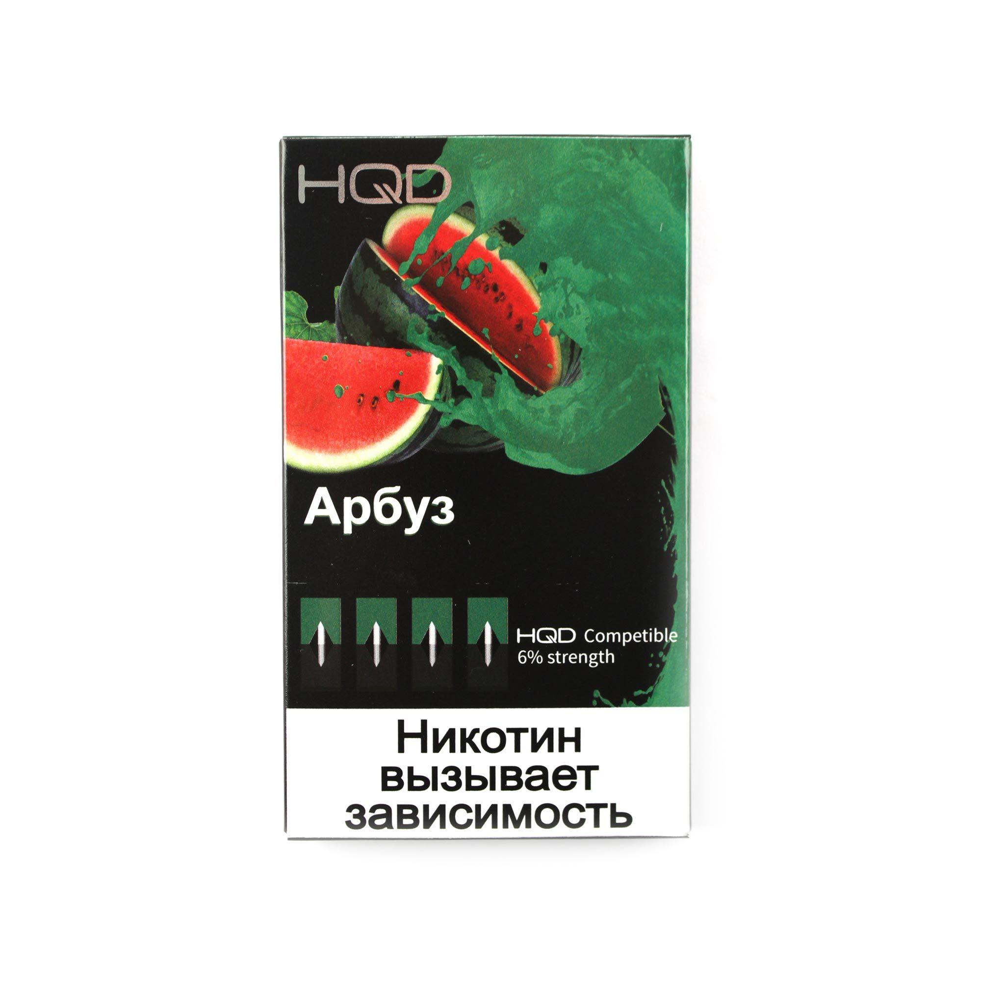 Сменный Картридж совместимый с JUUL HQD - Арбуз х4, 60 мг