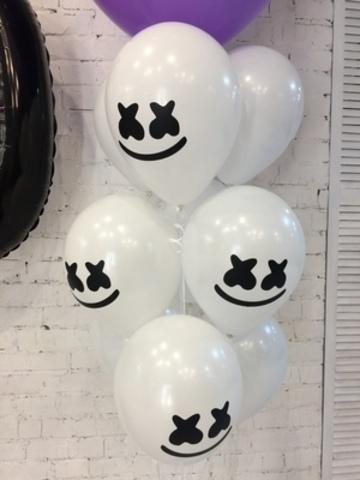 Воздушные шары Маршмеллоу Фортнайт