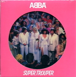 ABBA / Super Trouper + The Piper (Picture Disc)(7' Vinyl Single)