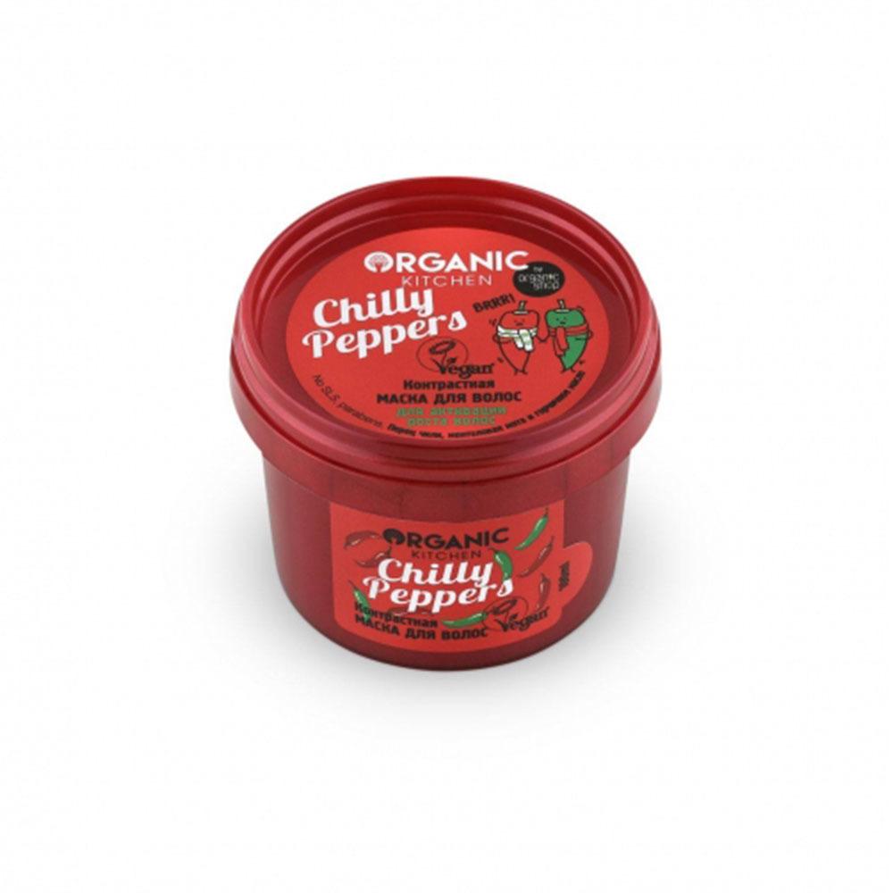 """Маска для волос контрастная """"Chilly Peppers"""""""
