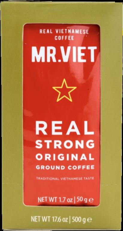 Молотый кофе MR.VIET Real strong original в пакетиках 500 г