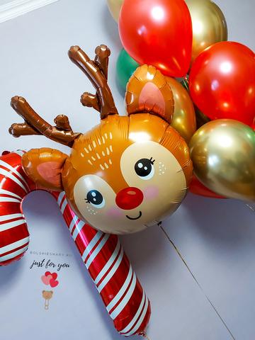 Воздушные шары на Новый год Москва