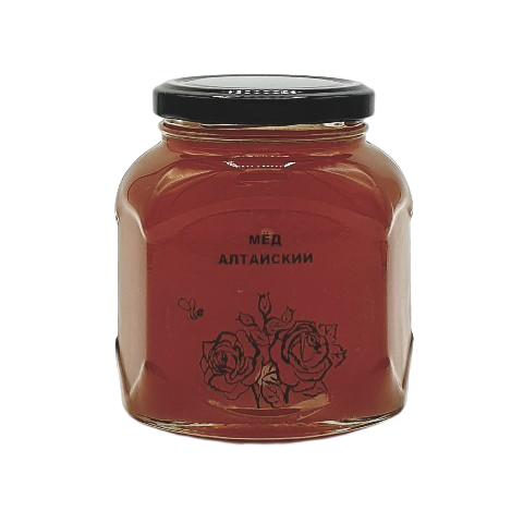 Мёд натуральный АЛТАЙСКИЙ, 500 гр