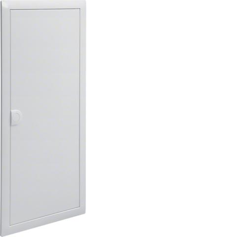 Наружная рамка с дверцей,Volta,4-рядный RAL9010