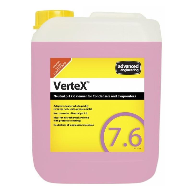 Концентрат Vertex (Нейтральное (pH 7.6) средство для очистки конденсаторов и испарителей)
