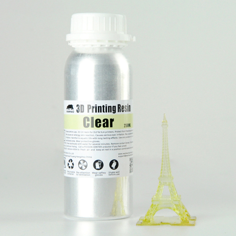 Фотополимер Wanhao Standard Resin, натуральный (250 мл)