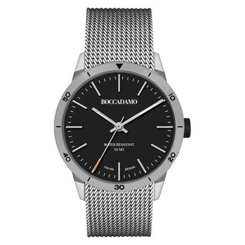 Часы Navy Silver Black NV016 BW/S