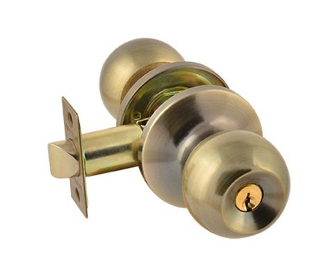 Ручка раздельная с защёлкой ЗШ-01 с ключом