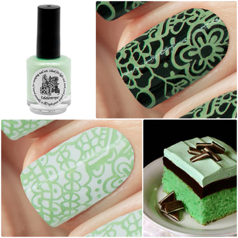 Kaleidoscope Лак для стемпинга №st-80 Light green 15 мл