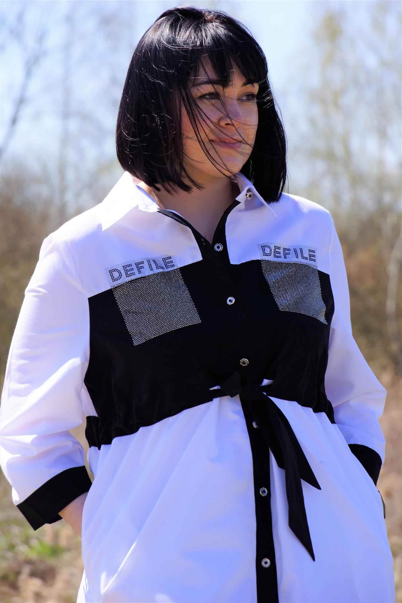 Туника-рубашка Defile