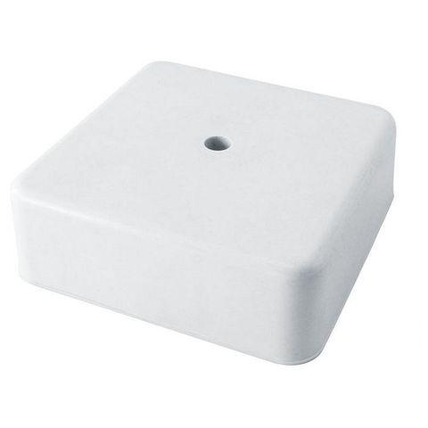 Коробка распаячная КР 75х75х28 ОП белая,IP40,инд.штрихкод TDM