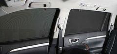 Каркасные автошторки на магнитах для ACURA MDX (1) (2001-2006) внедорожник. Полный комплект из 7 экранов