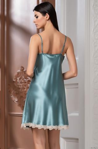 Сорочка женская Mia-Mella Джулия JULIA 8730 изумруд