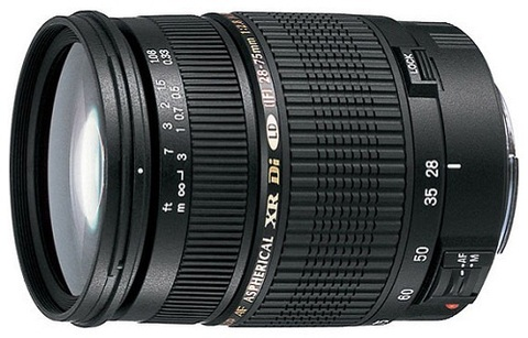 Объектив Tamron AF SP 28-75mm f/2.8 XR Di LD Aspherical IF Macro Model A09 Black для Canon