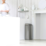 Прямоугольный мусорный бак Touch Bin (25 л), артикул 384929, производитель - Brabantia, фото 11
