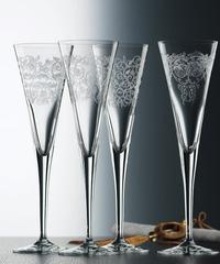 Набор из 4 хрустальных фужеров для шампанского Delight, 165 мл, фото 1