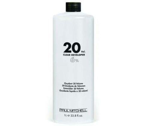 Paul Mitchell COLOR Clear Developer  20vol  Жидкий окислитель-проявитель  6% 1л