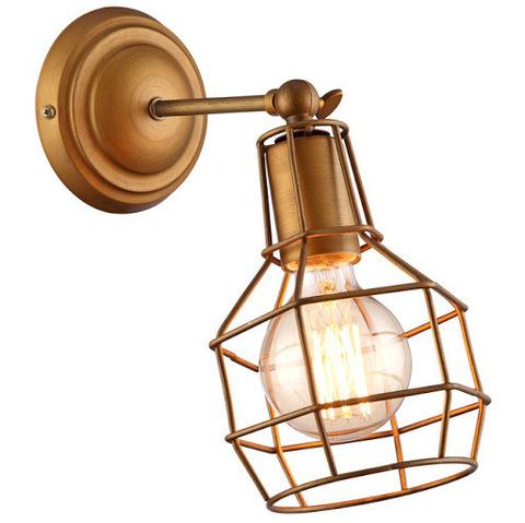 Светильник настенный с абажуром (Бронза) A9182