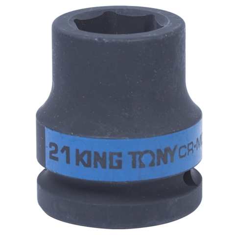 KING TONY (653521M) Головка торцевая ударная шестигранная 3/4