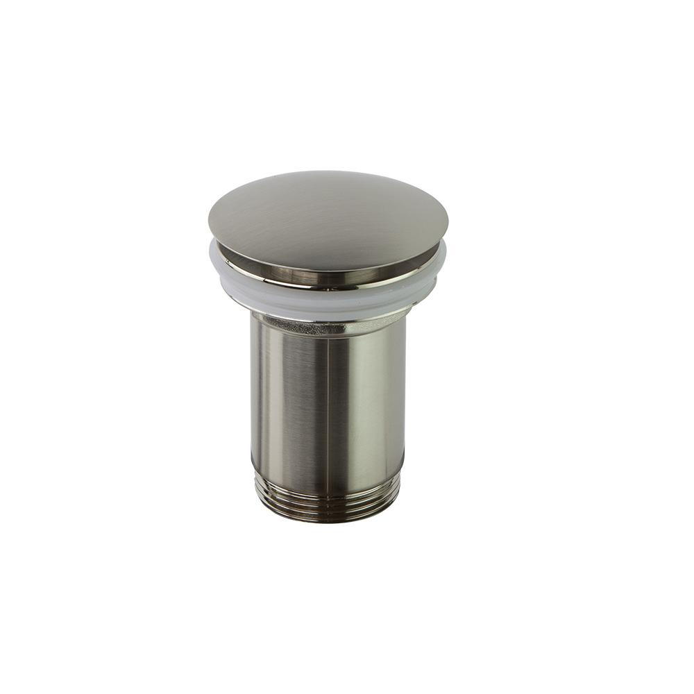 Клапан сливной QUICK CLAC 1219LNC никель