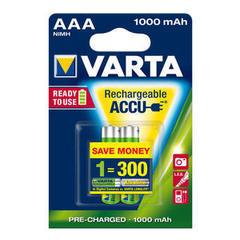 Аккумуляторы Varta 5703 R-03/2bl AAA (1000mAh)