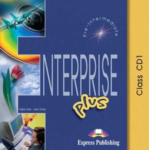 Enterprise Plus. Class Audio CDs. (set of 5). Pre-Intermediate. Аудио CD для работы в классе