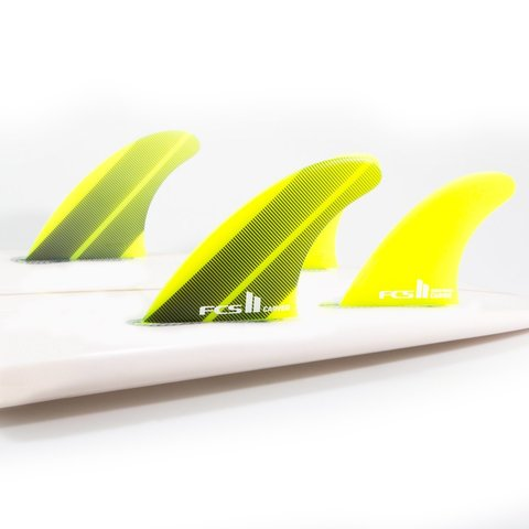 FCS II Carver Neo Glass Tri Fins Acid Gradient Large
