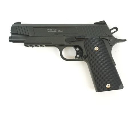 Страйкбольный пистолет Galaxy G.38 Colt, металлический, пружинный