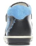 Ботинки для мальчиков Котофей 152134-21 из натуральной кожи на липучке цвет синий. Изображение 2 из 6.