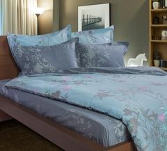 Сатиновое постельное бельё  2 спальное  В-31