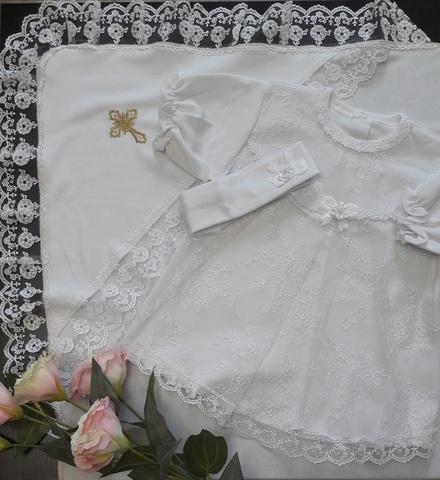 Крестильный комплект  Малышка для девочки