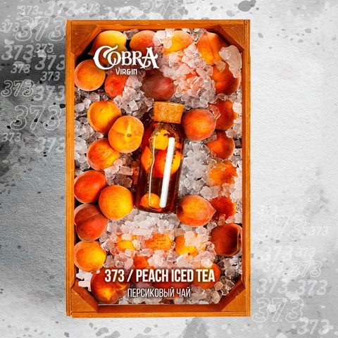 Кальянная смесь Cobra Virgin 50 гр Peach Iced Tea
