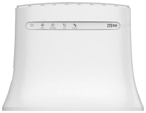 4G/Wi-Fi точка доступа (роутер) ZTE MF283, белый