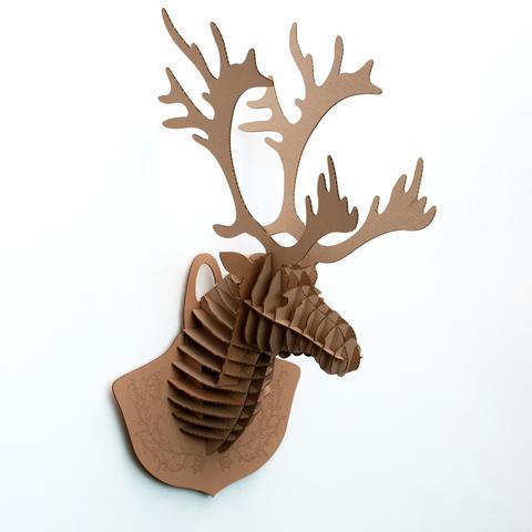 Голова Лося ДекорКоми на стену (3D конструктор)
