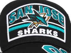Бейсболка NHL San Jose Sharks № 88